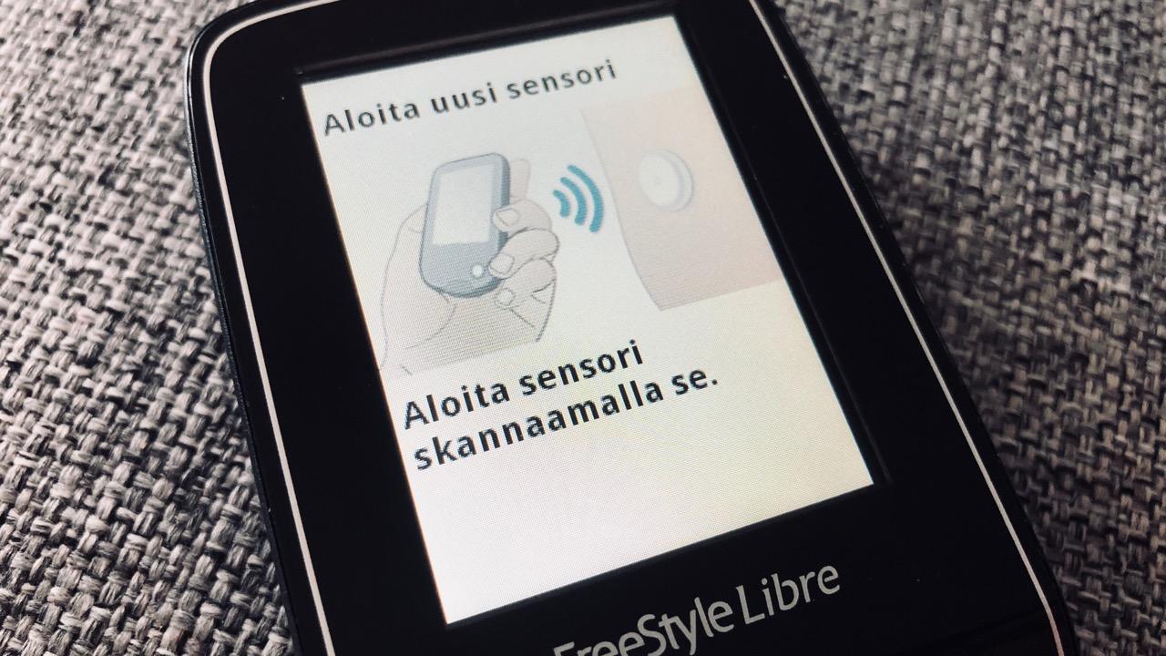 Testissä FreeStyle Libre